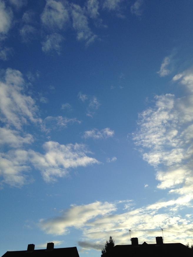 Blue skies!!